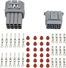 WMYCONGCONG Waterproof Electrical Wire Cable 12 Pin Way Connector Plug (10 Kit)