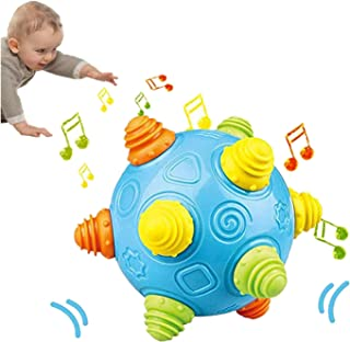 Lsmaa Free Baby Music Shake Dancing Ball Bouncing Jumping Sensory Developmental Toy Activation Early Educational Game for ...