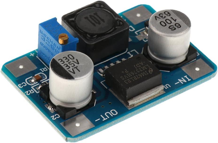 shamjina DC Power Supply Module LM2576HV Board Adjustable Step-Down Module Converter