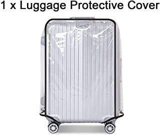 Waterproof Dustproof Luggage Protective Cover Transparent Design PVC Travel Luggage Cover Travel Accessories