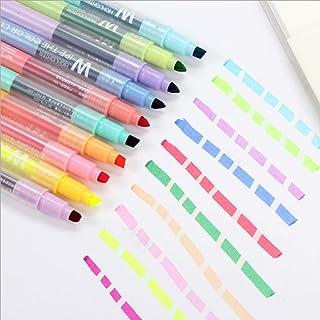 6 Stück fluoreszierender Textmarker Stift Wasserbasis Studenten Künstler