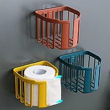 Toiletrolhouder, badkamerpapierrolhouder Toiletrolhouder voor keuken wasruimte -rood