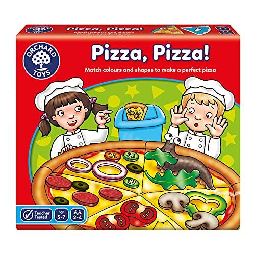 Orchard Toys - Pizza, Pizza!, Gioco da tavola [Lingua Inglese]