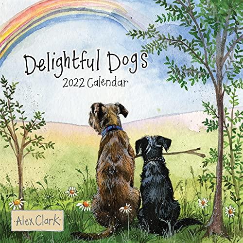 ALEX CLARK Delightful Dogs 2022 Wall...