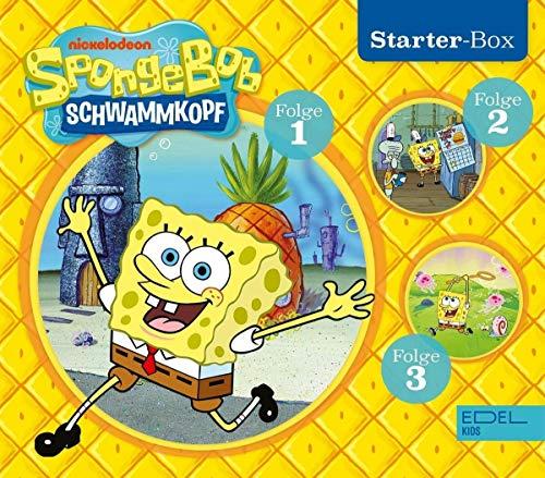 SpongeBob Schwammkopf - Starter-Box (1-3) - Die Original-Hörspiele zur TV-Serie