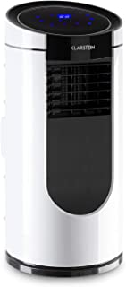 Klarstein Metrobreeze Miami - Aire acondicionado portátil, 9.000 BTU/2,6 kW, 950 W, Caudal máximo 380 m³/h, Tamaño de sala 26-44 m², Clase A, 4 modos, 3 niveles, Temperatura regulable 16-31 °C, Blanco