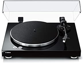 Yamaha TT-S303 Hi-Fi Vinyl Belt Drive Turntable – Piano Black