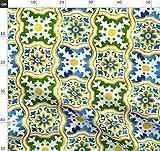 Spanische Fliesen, Spanisch, Keramisch, Keramik,