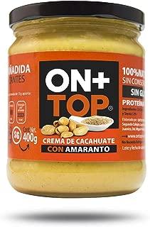 ONTOP CREMA DE CACAHAUTE CON AMARANTO 400g