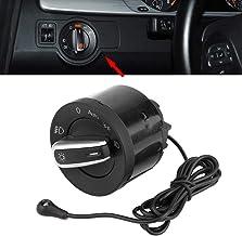 Interruptor boton mando luces con sensor de luces, Interruptor del faro compatible con MK5 MK6