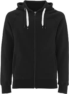 Zip Up Hoodie for Women - Premium Organic Cotton Unisex Hooded Zipper Sweatshirt - QM3AJ6N10B1
