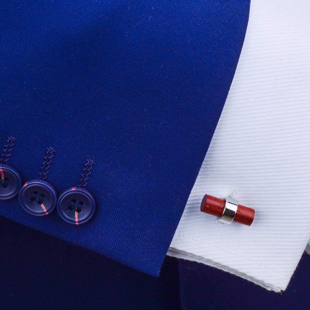 ZZABC Shirt Cufflinks for Mens Fine Gift Cuff Bottons Wood Cuff Links Brand Fashion Jewelry