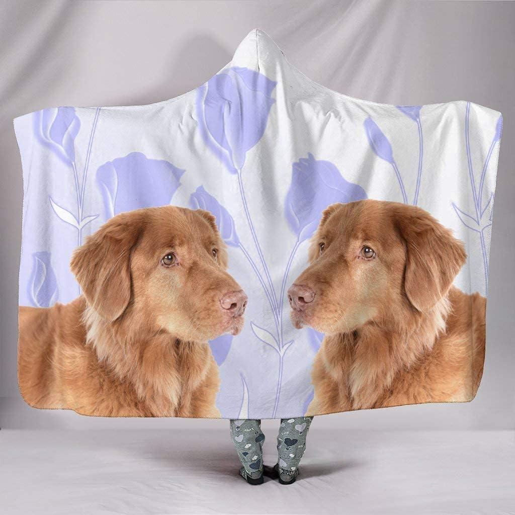 Cute Nova Scotia Duck New sales Tolling Hooded New sales Print Blanket Retriever