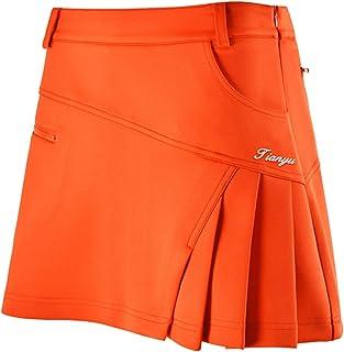 レディースゴルフスカート GOLFウェア インナーパンツ付き コットン製品 伸縮性 軽量 通気性