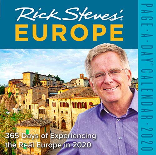 Rick Steves' Europe Color Page-A-Day Calendar 2020 [6