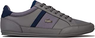 Lacoste Mens Chaymon 318 1 Trainers Sneakers in Grey Blue