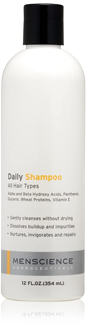 ブローホールびんなんでもMenScience - Daily Shampoo - Shampoing quotidien (354 ml)