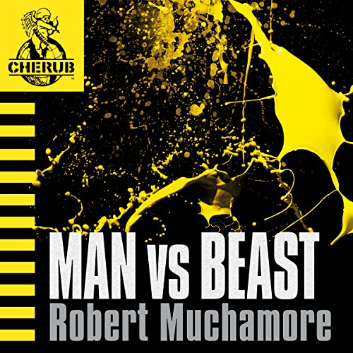 Cherub: Man vs Beast audiobook cover art