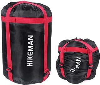 caffmo コンプレッションバッグ 携帯スタッフサック 大容量 軽量 耐摩耗 丈夫 寝袋&衣類が収納可能