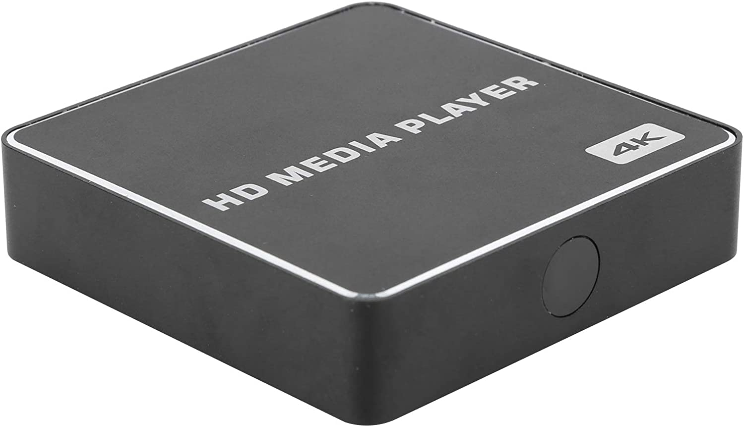 Wisoqu HDMI Media Player,Mini 1080p Full-HD Digital Media Player USB Media Box 4K Player HD Digital Media Player,90°/270°/180° Rotation Picture Output Function(US)