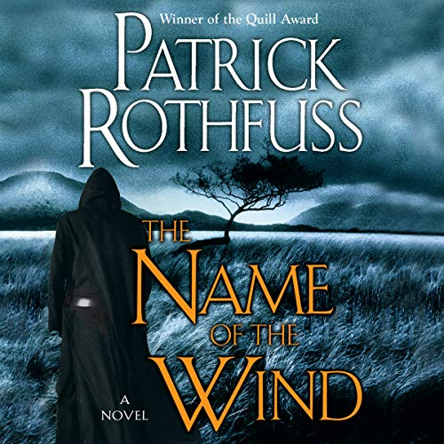 The Name of the Wind audiobook cover art