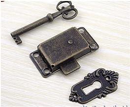 GangKun Antieke, meubels deurslot, brons, kast deurslot, vintage, lade, klassiek slot, teller slot