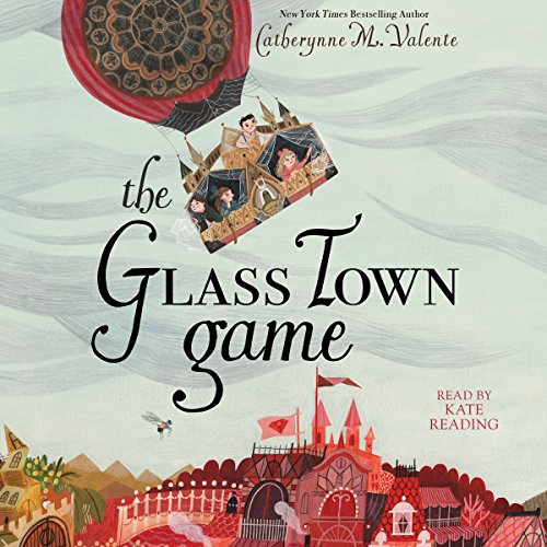 The Glass Town Game audiobook cover art