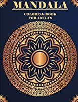 Mandala: An Adult Coloring Book with 20 Beautiful and Relaxing Mandalas for Stress Relief and Relaxation