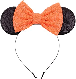 Ohdina Lovely Mouse Ears Headband Butterfly Hairband Princess Decoration Birthday Supply Festival