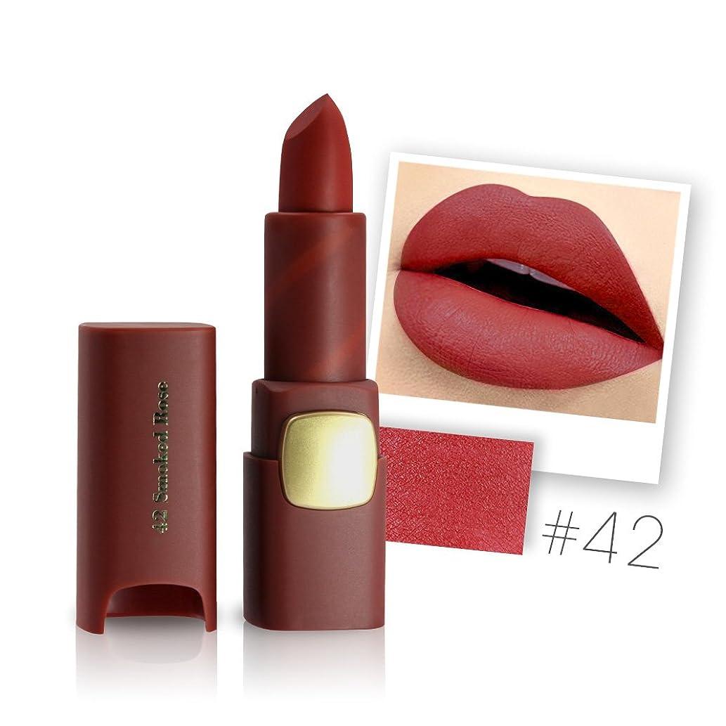 遠足命令的繰り返しMiss Rose Brand Matte Lipstick Waterproof Lips Moisturizing Easy To Wear Makeup Lip Sticks Gloss Lipsticks Cosmetic