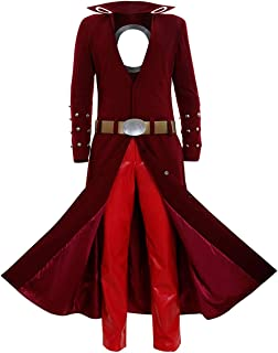 Fox's Sin of Greed Ban Cosplay Costume Halloween Dress Up Red Uniform Outfit Suit
