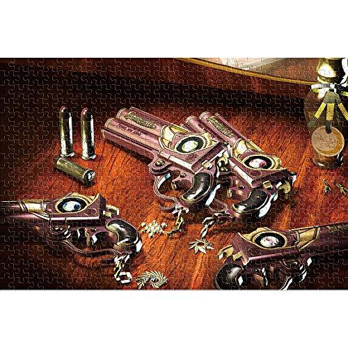 CHDBB Rompecabezas de 1000 Piezas para Adultos Bayonetta Rompecabezas Brillantes y Coloridos Game Scene Regalo de Rompecabezas de Juguete de Entretenimiento 38x26cm