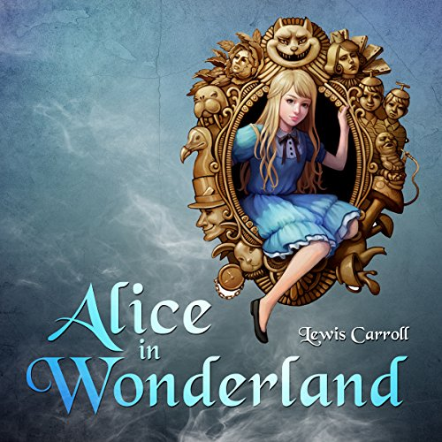 Alice in Wonderland audiobook cover art
