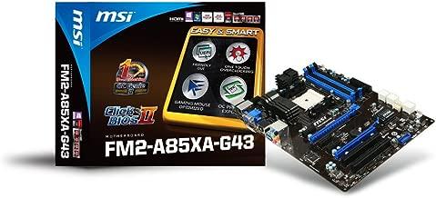 MSI ATX DDR3 2400 FM2 Motherboards FM2-A85XA-G43