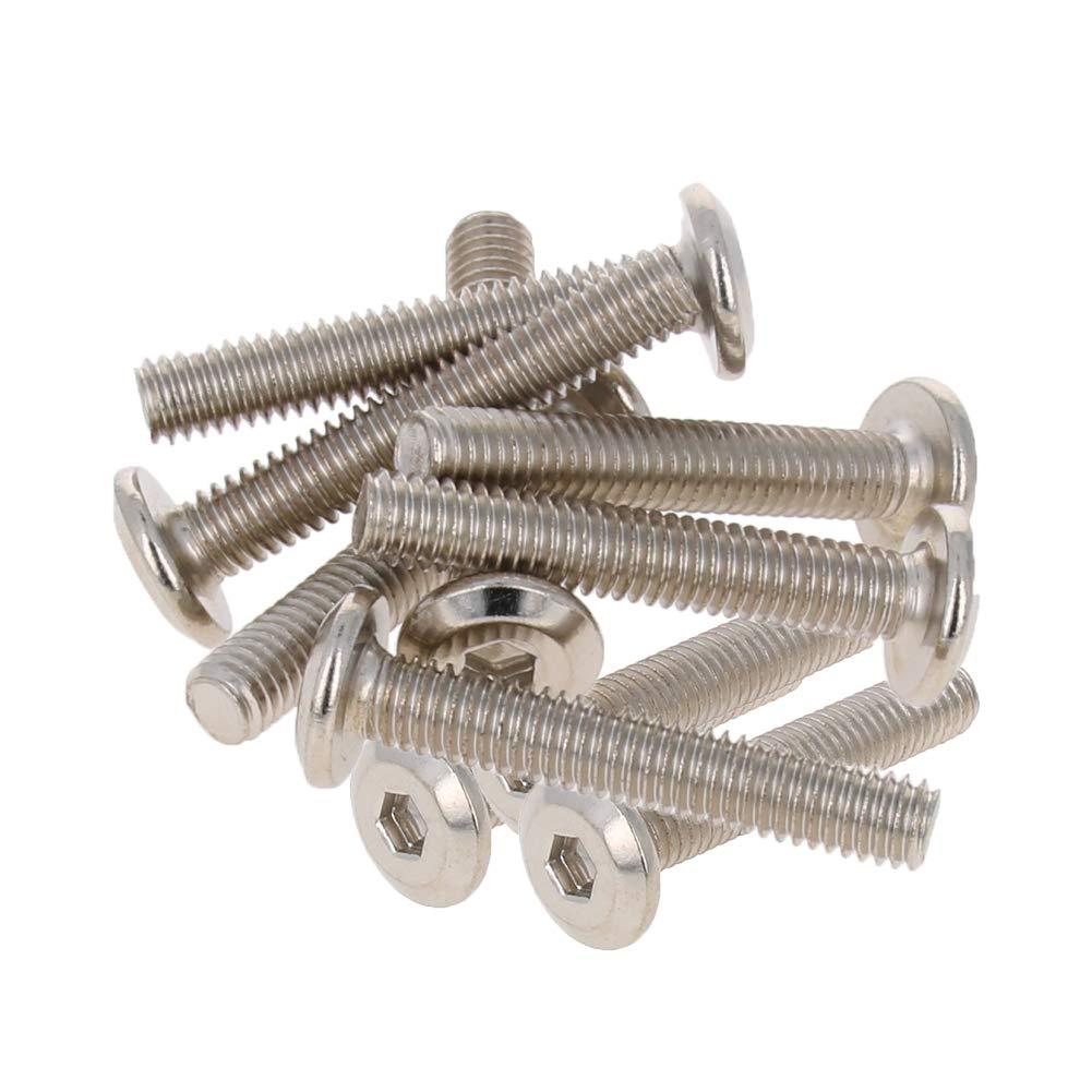 MroMax Carbon Max 74% OFF Steel Hex Socket High material Head M6x35mm Nuts Cap Screws Furn