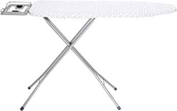 Happer Ace Large Foldable Metal Mesh Ironing Board (Silver)