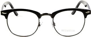 Goson Vintage Nerd Fashion Clear Eyeglasses, Clear Lens Retro Eye Glasses Frames