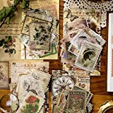 240 Piezas Pegatinas para sellos postales, Pegatinas para álbumes de Recortes Adhesivos Artesanales Autoadhesivos de Bricolaje para Decoración Scrapbooking Calendarios Tarjetas