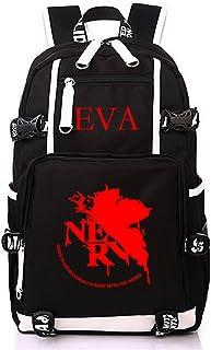 Siawasey Anime EVA Neon Genesis Evangelion Cosplay Backpack Daypack Bookbag Laptop School Bag