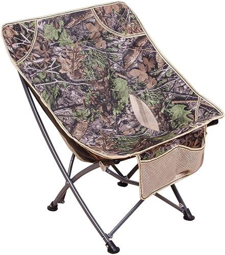 KJRJZDY Chaise de Camping Pliante ultralégère, Compact portatif pour Le Camp en Plein air, la Plage, Le Pique-Nique, Le Festival, la randonnée, la randonnée légère