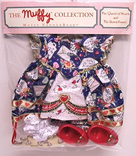 Muffy Vanderbear The Queen of Hearts Outfit by North American Bear