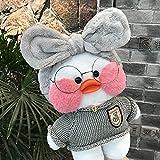GXYMF 30CM Pink LaLafanfan Kawaii Cafe Mimi Yellow Duck Plush Toy Cute Stuffed Doll Soft Animal Dolls Kids Toys Birthday Gift for Girl 20
