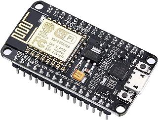 IZOKEE NodeMCU Lua Módulo ESP8266 ESP-12E Placa de Desarrollo Internet WiFi con Chip CP2102 Compatible con Arduino IDE (1 x NodeMCU Lua)
