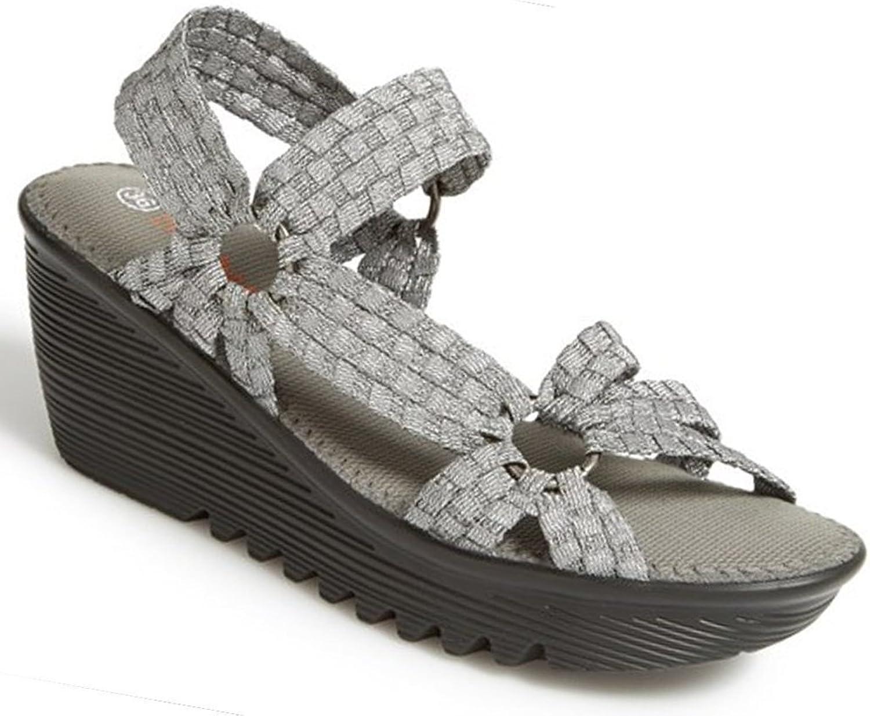Bernie Mev Women's Crystal Fashion Mesh Sandals