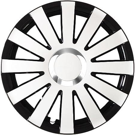 Autoteppich Stylers 16 Zoll Radkappen Onyx Schwarz Weiß Farbe Und Größe Wählbar Auto