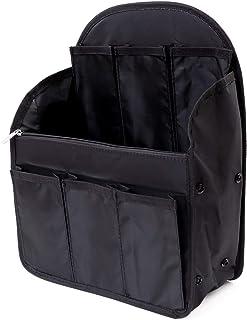 【SIMPS】リュックインバッグ (大容量)バッグインバッグ インナーバッグ 16ポケット 14ポケット 3種類 アーチ型 四角型 小物収納 A4 B4 B5 縦型 整理 調節可能 メンズ レディース 軽量 背面ハンドル付き