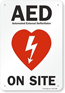 "SmartSign ""AED On Site"" Sign 