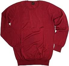(リッチリートレンド)RICHLY TREND セーター ウールシルク クルーネック イタリア製 レッド