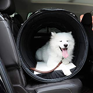 Pet Travel Carrier Dog Car Mat Cage Anti-Dirty Folding Carry Bag Kennel Soft Sided Portable for Cat Blue