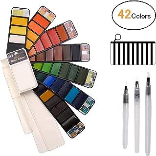 /12/acuarelas de tubo de 12/colores Pentel wfrs2/ multicolor